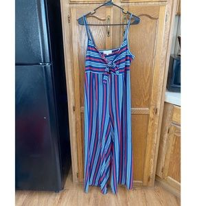 No Comment Red White and Blue Jumpsuit XL